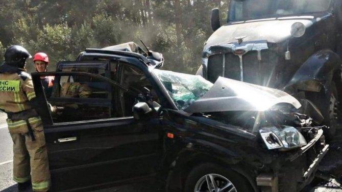 В ДТП с грузовиком в Кемеровской области погиб человек