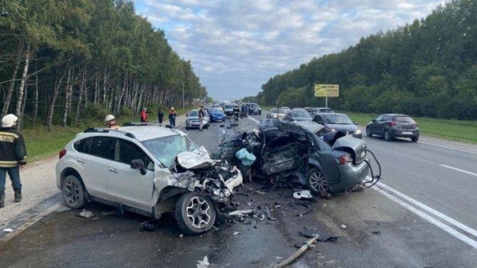 Молодой водитель иномарки погиб в ДТП под Новосибирском