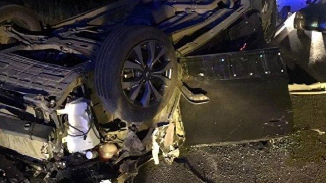Два человека погибли в ДТП с КамАЗом в Челябинской области