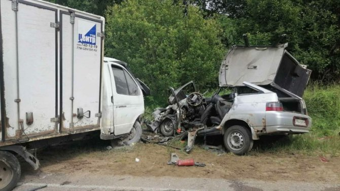 В ДТП в Кардымовском районе Смоленской области погиб человек