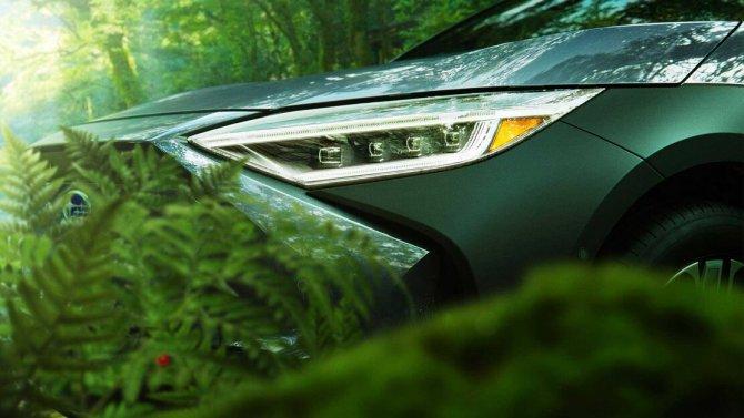 Subaru Solterra фары