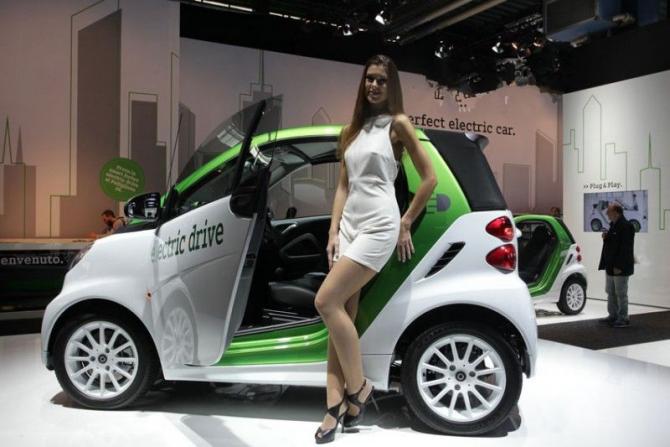 Часто новости про отечественные электрокары СМИ иллюстрируют фотографиями модели Smart Fortwo