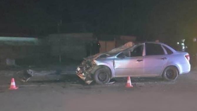 ВДагестане водитель «Гранты» погиб, заехав под КАМАЗ