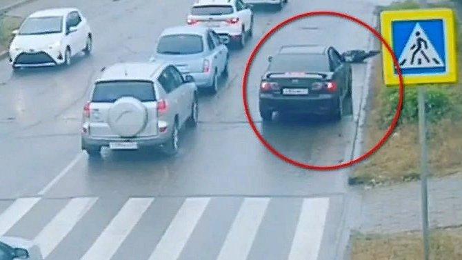 ВУлан-Удэ на«зебре» угнанным автомобилем был сбит ребёнок