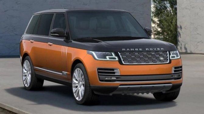 Эксклюзивная серия Range Rover SVAutobiography Ultimate в единственном экземпляре в «АВИЛОН» Легенда