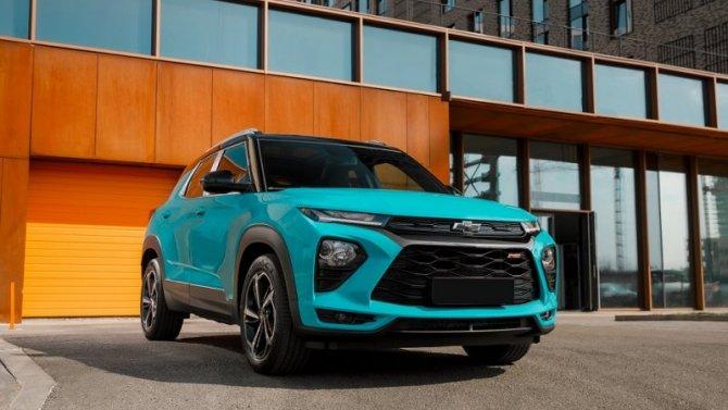 Абсолютно новый Chevrolet Trailblazer прибыл в «АВИЛОН»