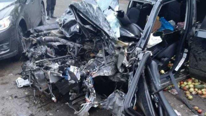 Водитель иномарки погиб в ДТП под Ржевом