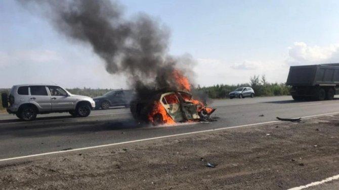 В ДТП в Саратовской области погибли два человека