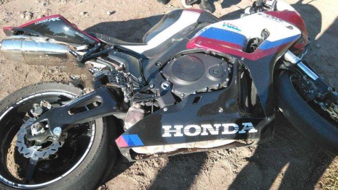 Мотоциклист погиб в ДТП в Слободском районе Кировской области