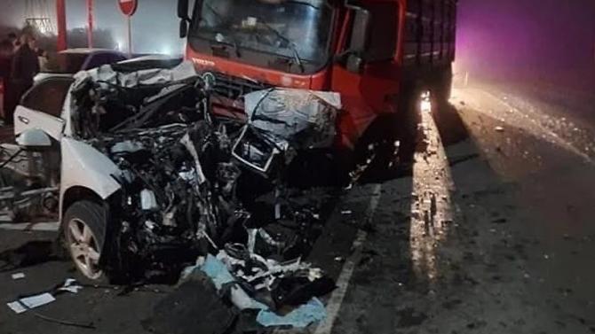 Под Самарой женщина без прав села заруль ипогубила троих пассажиров