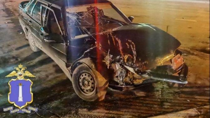 Двое взрослых и подросток пострадали в ДТП в Ульяновске