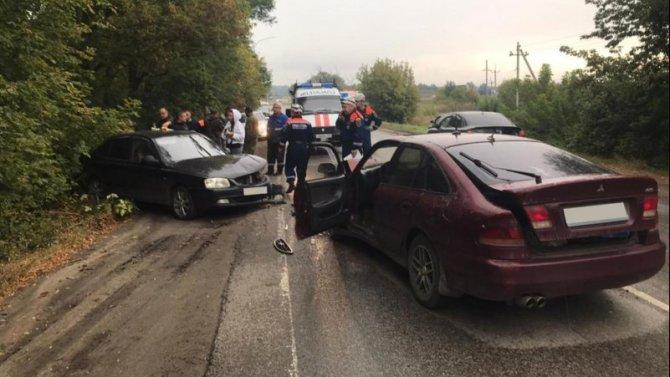 В ДТП под Ростовом пострадали женщина и ребенок