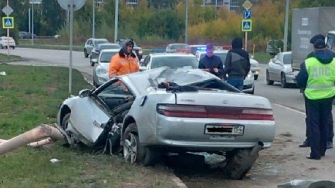 В ДТП в Барнауле погиб водитель
