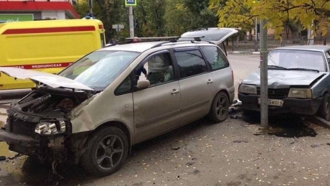 Две женщины пострадали в ДТП в Ленинском районе Саратова