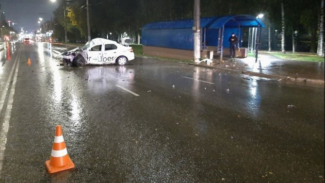 В ДТП в Кирове погиб молодой таксист