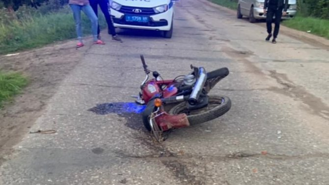 В Тверской области подросток насмерть сбил мотоциклиста и скрылся
