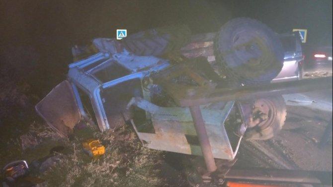 В ДТП с трактором в Воронежской области погибли двое
