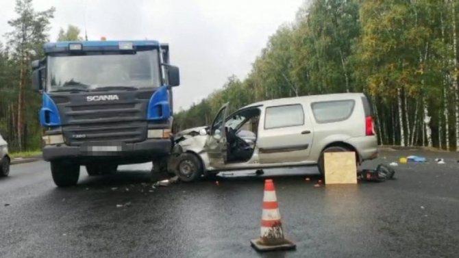 Водитель «Лады» погиб в ДТП под Новозыбковом