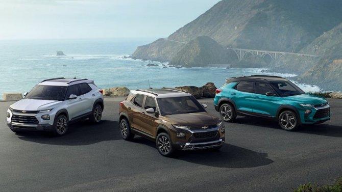 ВРоссии стартовали продажи нового Chevrolet Trailblazer: подробности ицены