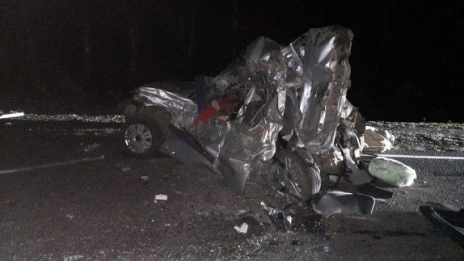 В Воронежской области пьяный водитель КамАЗа устроил ДТП с пятью погибшими