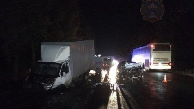 Два водителя пострадали в ДТП в Чернском районе Тульской области