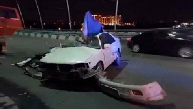 В Иркутске водитель иномарки погиб в ДТП, скрываясь от погони