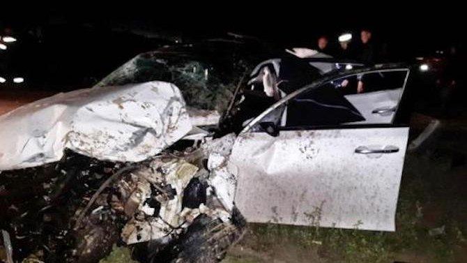 ВХМАО смертельное ДТП— вперевернувшейся машине два человека погибло идвое выжило