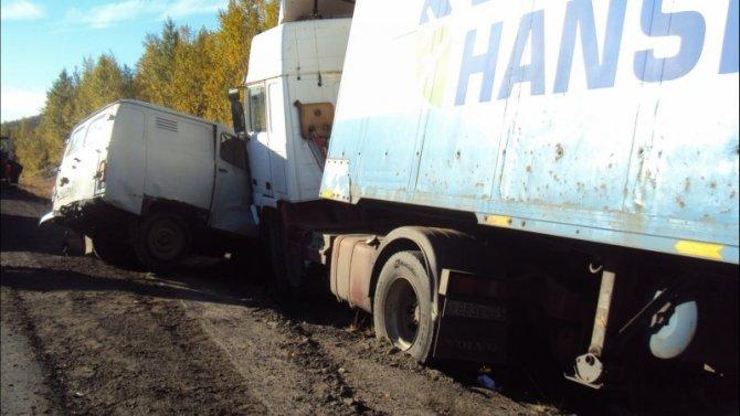 Два человека пострадали в ДТП в Мурманской области