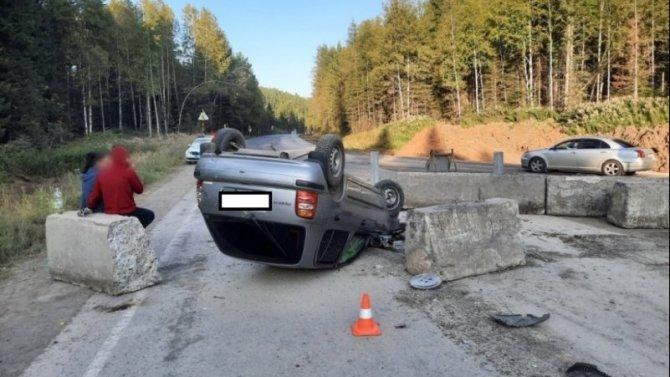 Три человека пострадали по вине пьяного водителя в Красноярском крае