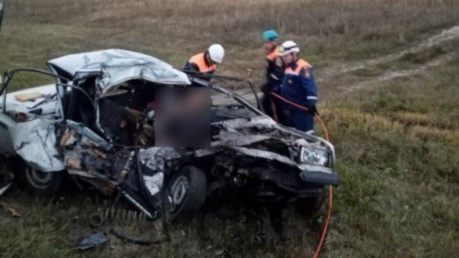 Водитель ВАЗа погиб в ДТП под Пензой
