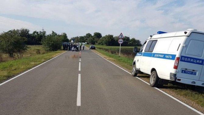 В Адыгее насмерть сбили подростка