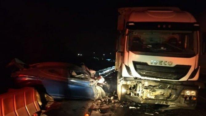 Смертельное ДТП вЧувашии— водитель Hyundai выехал навстречную полосу прямо под грузовик