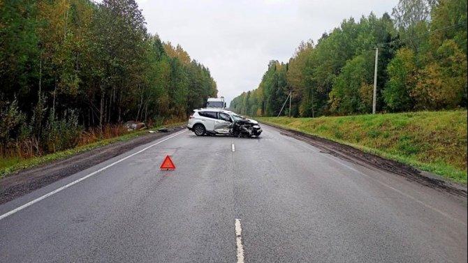 В ДТП в Кировской области пострадал 5-месячный ребенок