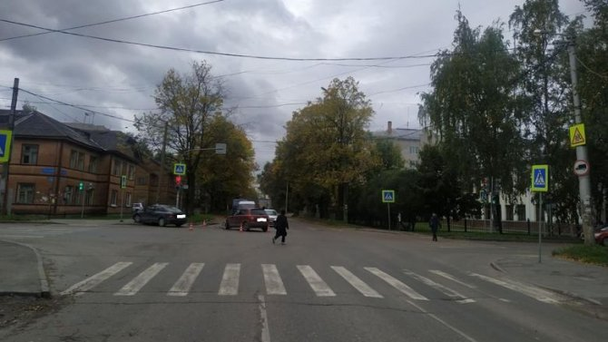 Женщина и 5-летний ребенок пострадали в ДТП в Вологде