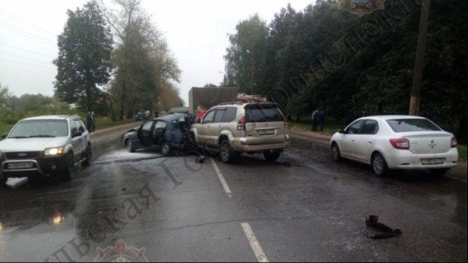 7-летний мальчик пострадал в ДТП в Новомосковске