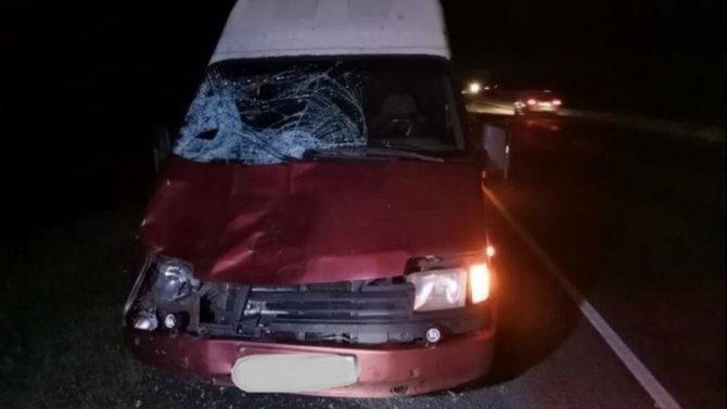 Водитель Ford насмерть сбил девушку в Почепском районе