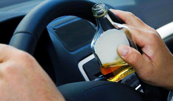 Пьянка за рулём