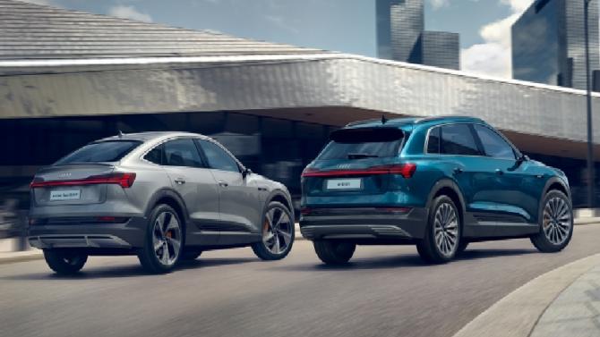 Два шага к прогрессу: новые Audi e-tron Sportback и Audi e-tron S