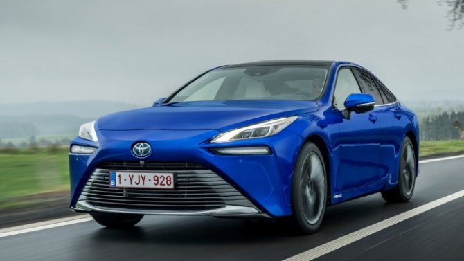 Водород рулит: Toyota Mirai поставил новой рекорд дальности поездки без дозаправки— почти 1360км