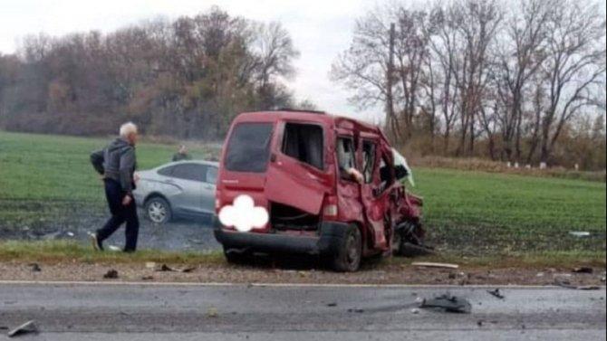 В ДТП в Курганинском районе Краснодарского края погибла женщина