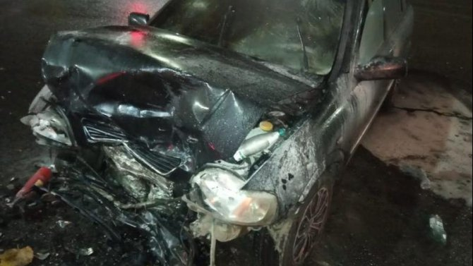 Три человека пострадали в ДТП с возгоранием в Воронеже