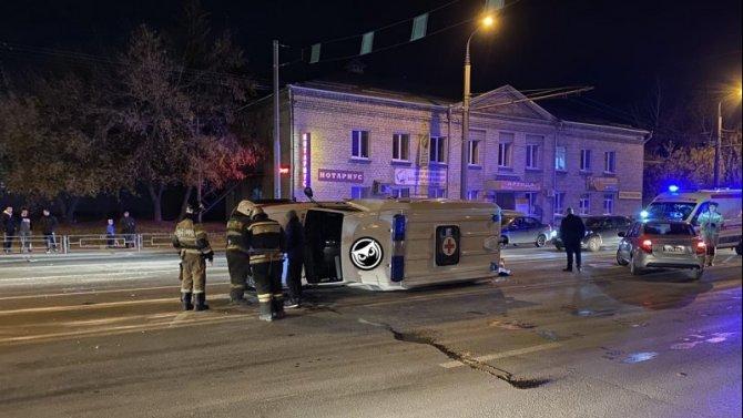 В Пензе в ДТП со «скорой» погибла пациентка