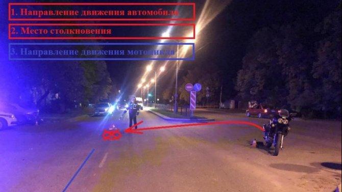 Мотоциклист пострадал в ДТП в Железноводске