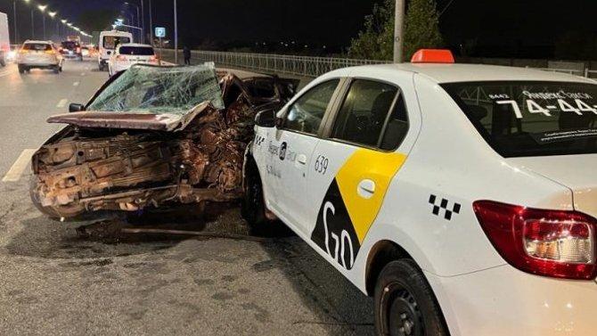 В массовом ДТП в Волгограде погиб водитель иномарки