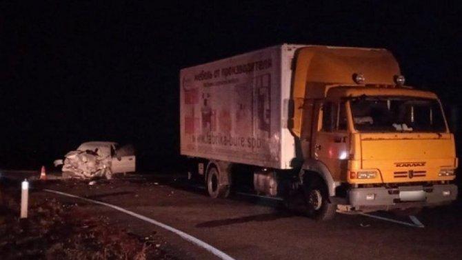 Водитель погиб в ДТП в Камышинском районе Волгоградской области