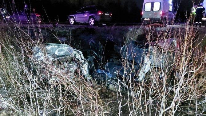 В ДТП в Мурманской области погиб водитель иномарки