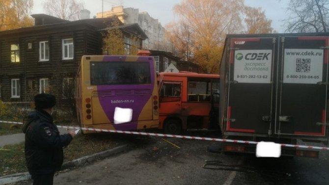 24 человека пострадали в ДТП с автобусами в Нижнем Новгороде
