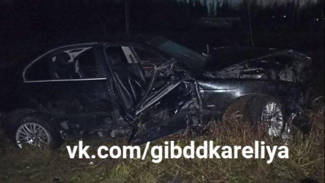 Три девушки пострадали в ДТП в Сегежском районе Карелии