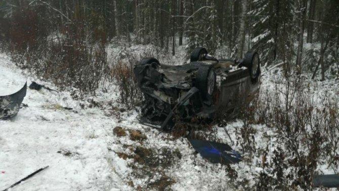 Водитель погиб в ДТП в Усть-Вымском районе